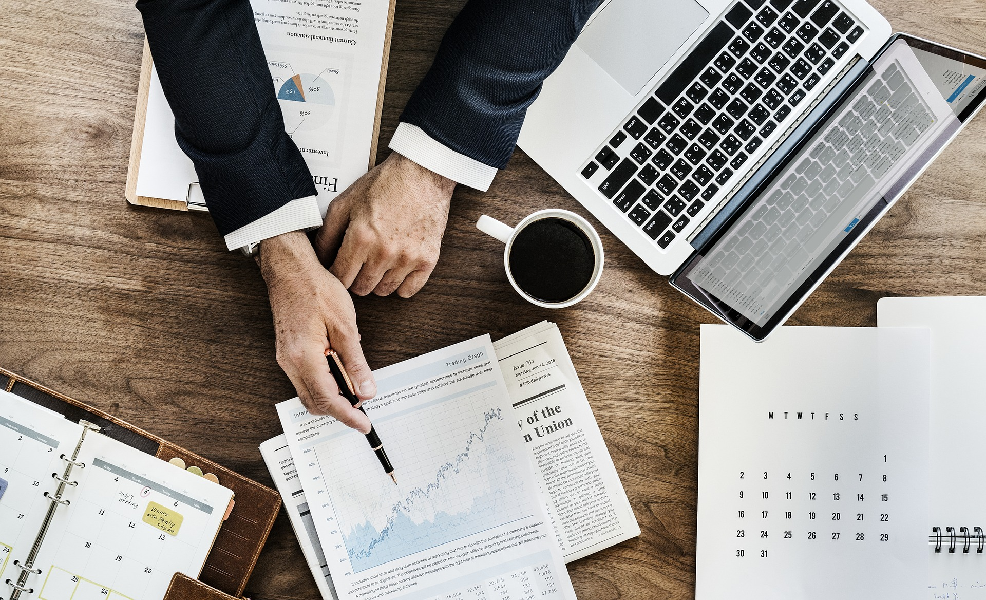 Understanding investments around a table