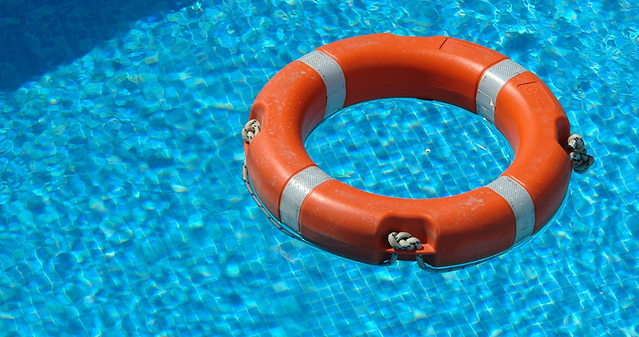 life saver floating water
