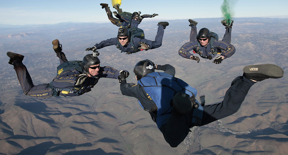 terminal velocity skydiving