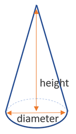 how to find the volume of a cone calculator