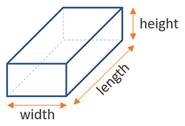 volume rectangular box